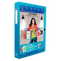 OXFORD Heftbox Polyvision 4,0 cm blau