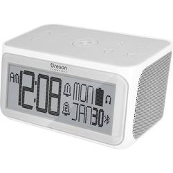Oregon Scientific RA389 Wecker Grau-Weiß Alarmzeiten 2