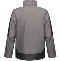 Regatta 3-in-1-Funktionsjacke Herren 3-in-1-Jacke mit Kontrastfarben grau XS
