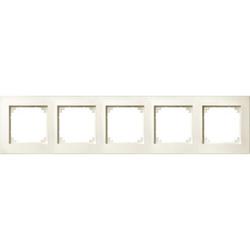 Merten 486544, M-PLAN-Rahmen, 5fach, weiß