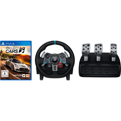 Logitech G G29 Gaming-Controller (inkl. PS4 Project CARS 3)