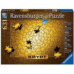 Ravensburger Puzzle Puzzle 631 Teile, 70x50 cm, Krypt Gold, Puzzleteile