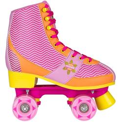 NIJDAM Rollschuhe Rollerskates für Mädchen • ABEC 5 Kugellager 33/34