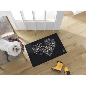 wash+dry Fußmatte, Liebe ist alles 50x75 cm, innen und außen, waschbar