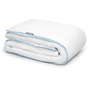 DecoKing 155x220 Vierjahreszeiten 4 Jahreszeiten Bettdecke Steppbettdecke Füllung 100% HCS - Faser antiallergisch für Allergiker Öko-Tex Standard 100 1600g (Zwei Bettdecken je 800g)