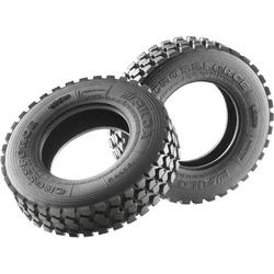 Carson Modellsport 1:14 LKW Reifen 21mm Gelände 1 Paar