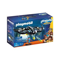 Playmobil® Spielzeug-Flugzeug PLAYMOBIL® 70071 - The Movie - Robotitron & Drohne mit Schussfunktion