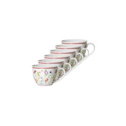 Ritzenhoff & Breker Tasse SHANTI Jumbotasse 350 ml 6er Set (6-tlg)