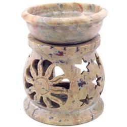 Guru-Shop Duftlampe Indische Duftlampe, ätherisches Öl Diffusor,.. 7 cm x 8 cm x 7 cm