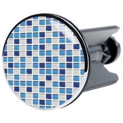 SANILO Stöpsel Mosaik Blau, für Waschbecken, Ø 4 cm blau