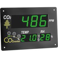 TFA AirCo2ntrol Observer CO2-Anzeige / CO2-Messgerät Schwarz