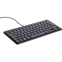 Raspberry Pi USB Tastatur DE schwarz/grau
