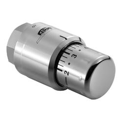 Kermi Thermostatkopf chrom, Gewindeanschluss M30 x 1,5