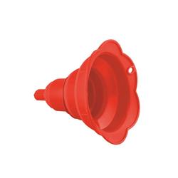 Kochblume Trichter Falttrichter, (Set), Platzsparend rot