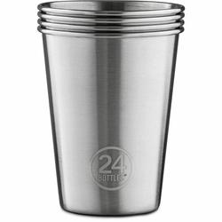 24Bottles roestvrij staal Drinkbeker 4st. steel