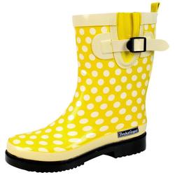 Gummistiefel Bockstiegel Gummistiefel, modischer Gummistiefel für regnerische Tage gelb 36
