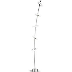 FISCHER & HONSEL LED Stehlampe Bambus