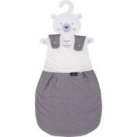 Träumeland Babyschlafsack Außenschlafsack Pünktchen grau 44