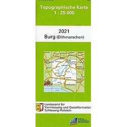 Burg (Dithmarschen) 1 : 25 000 - Buch