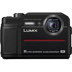 Lumix Panasonic Lumix DC-FT7 Outdoor-Kamera (4K Ultra HD, WLAN (Wi-Fi), 4,6x opt. Zoom) schwarz