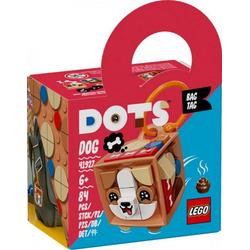 LEGO® Puzzle LEGO® DOTS 41927 Taschenanhänger Hund, Puzzleteile