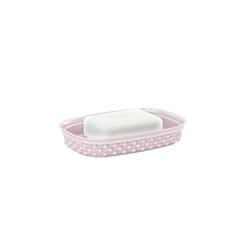 ONDIS24 Seifenschale Seifenschale Filo, Seifenablage zweiseitig, Seifenhalter Kunststoff, Schale Seife, Seifenunterlage Bad Dusche