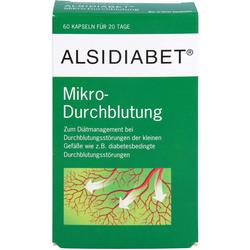 ALSIDIABET Diabetiker Mikro Durchblutung Kapseln 60 St.