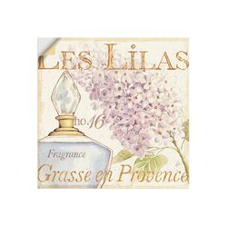 Artland Wandbild Blumen und Parfum IV, Schilder (1 Stück) 30 cm x 30 cm