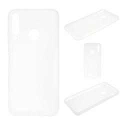 CoverKingz Handyhülle Huawei P40 Lite E Handy Hülle Silikon Case Cover Bumper Etui Matt Weiß Huawei P40 Lite E weiß