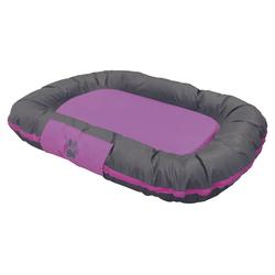 Nobby Hundekissen Classic Reno violett, Maße: 80 x 58 x 10 cm