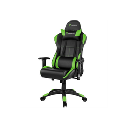 ebuy24 Gaming-Stuhl Paracon Rogue Gaming Stuhl inkl. Nackenkissen und grün