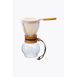 Hario Drip Pot Woodneck 240ml Olivenholz