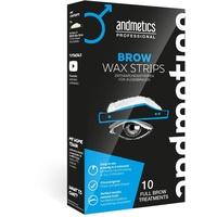 Andmetics Brow Wax Strips Men 10 St.