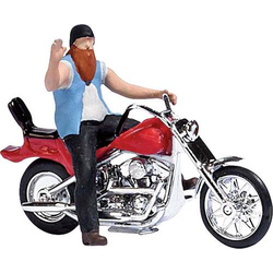 Busch 7861 H0 US Motorrad mit Biker