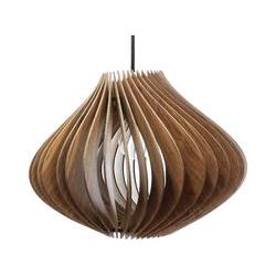 Pendellampe Holz | Ventus | Massivholz Pendelleuchte | Deckenleuchte Deckenlampe Holzlampe Ventus
