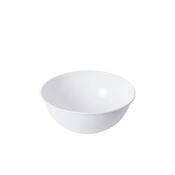 Riess Salatschüssel Salatschüssel WEISS, Emaille, (1-tlg) Ø 26 cm x 12 cm