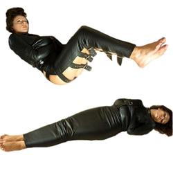Leder Bondage Schlafsack