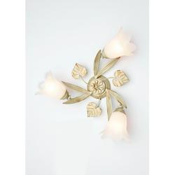 Deckenleuchte Florentiner, Deckenlampe goldfarben