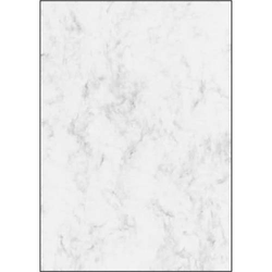 Designpapier Marmor A4 90g/qm VE=25 Blatt grau