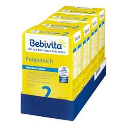Bebivita 2 Folgemilch 500 g, 4er Pack