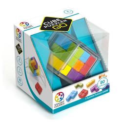 Smart Games Spiel, Logikspiel Cube Puzzler GO bunt