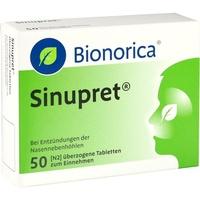Bionorica SINUPRET überzogene Tabletten