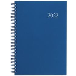 Terminbuch 2022 A4 1T/1S PP blau Wire-O 886-1215