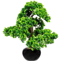 Kunstbonsai Bonsai Lärche Bonsai Lärche, Creativ green, Höhe 60 cm, im Keramiktopf