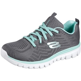SKECHERS Graceful Get Connected grey-mint/ white, 37