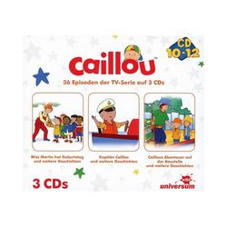 Caillou Hörspiel CD Caillou Hörspielbox 4 (CD 10-12)(3 CDs)
