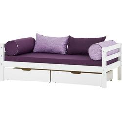 Hoppekids Einzelbett BASIC (2-St., Bett und Matratzen)