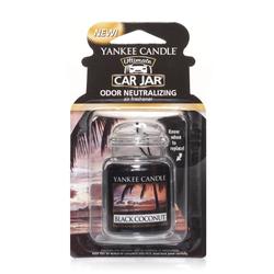 YANKEE CANDLE Car Jar Ultimate BLACK COCONUT Autoduft
