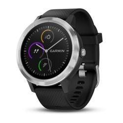 Garmin vivoactive 3 Smartwatch schwarz/silber