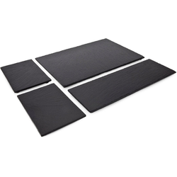 ROMINOX Servierplatte Tapas, Schiefer, (Set, 4-tlg), aus Naturschiefer